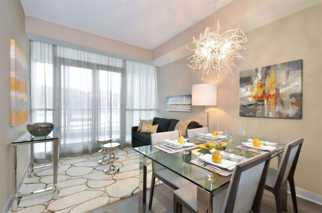 Pinnacle Grand Park 2 Model Suite Living Room