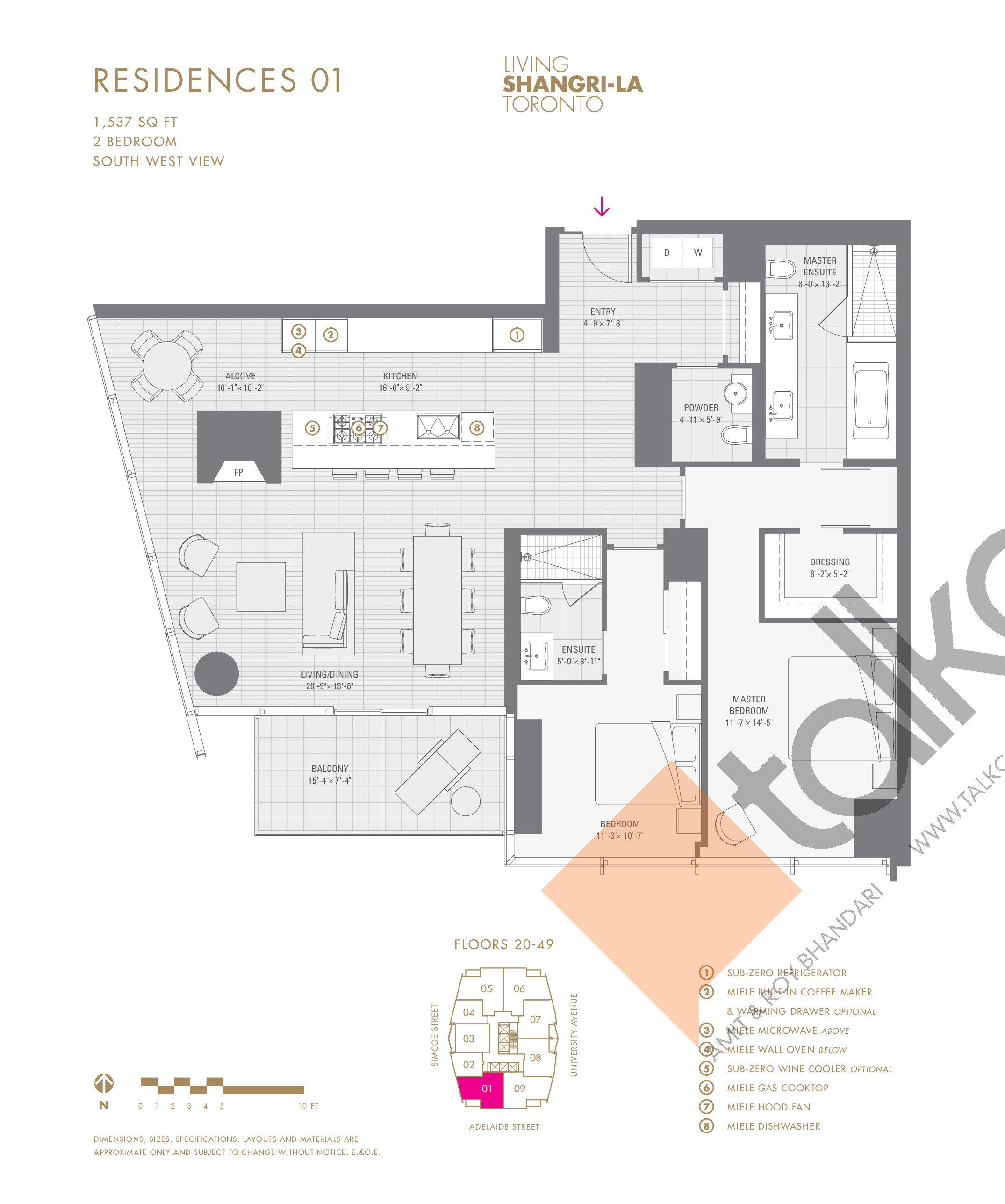 Shangri La Hotel Amp Residences Floor Plans Prices