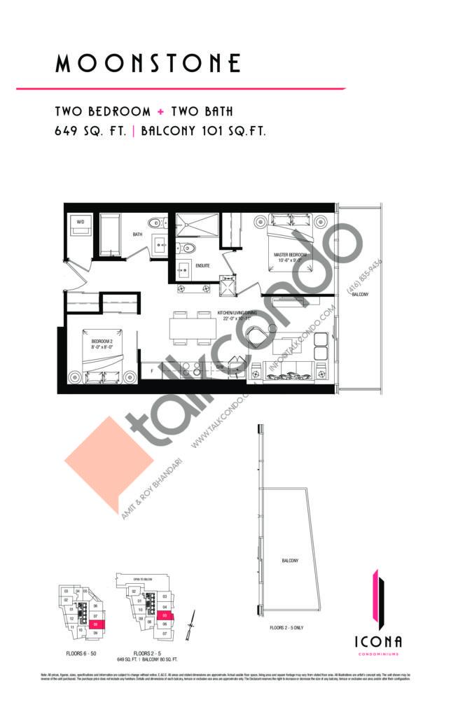 The Icona Condos Condos Floor Plans
