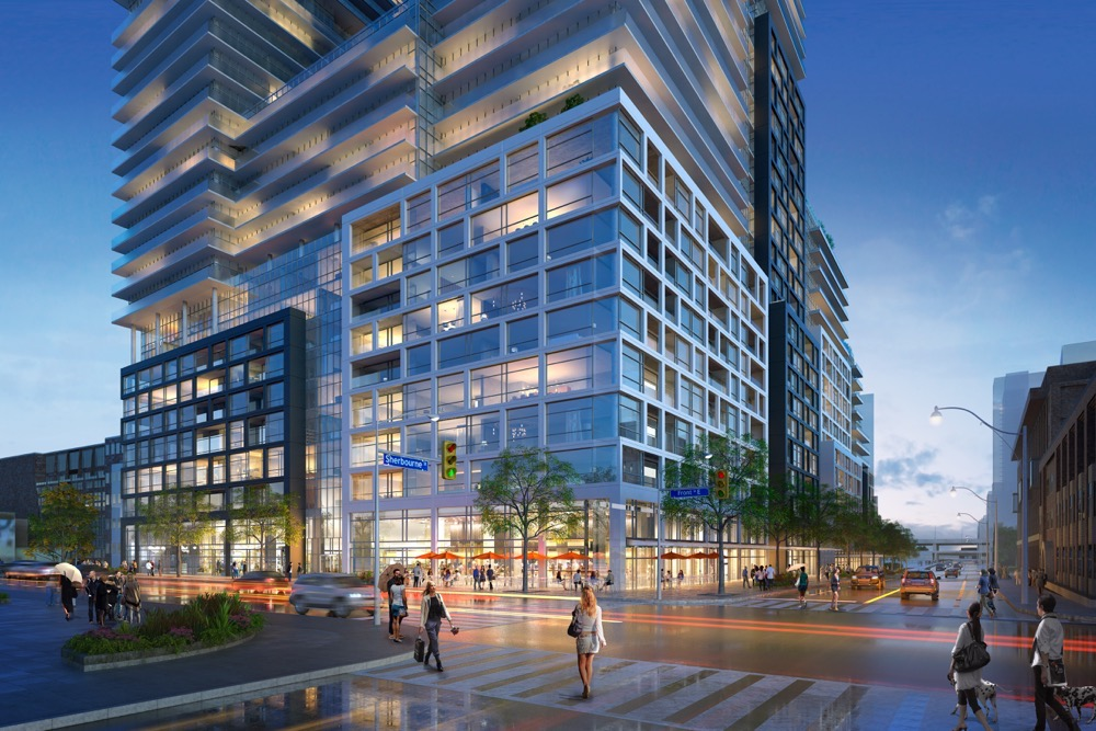 Time and Space Condos Rendering
