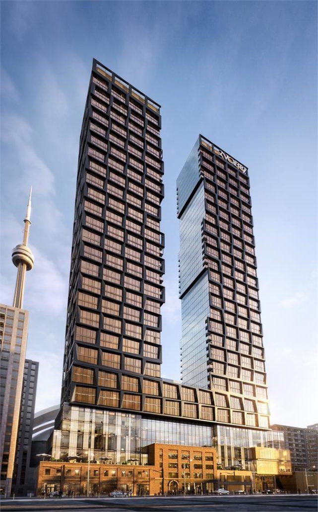 Nobu Residences Toronto Exterior Rendering