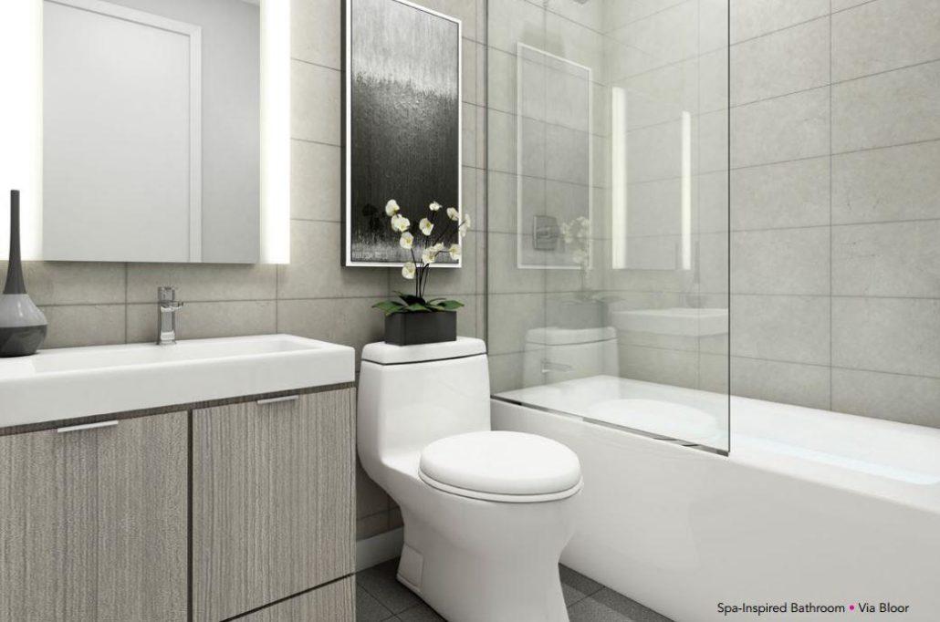 Via Bloor Condos 2 Bathroom