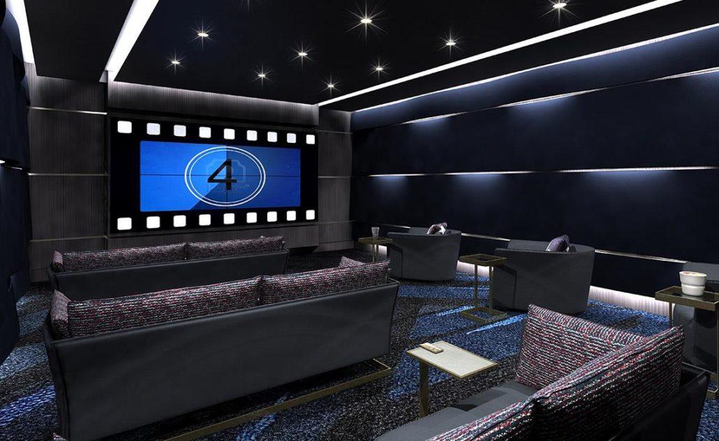 Via Bloor Condos 2 Theatre Room
