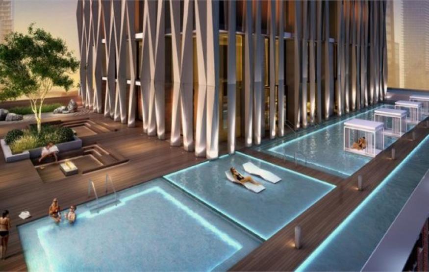 yorkville condos pool