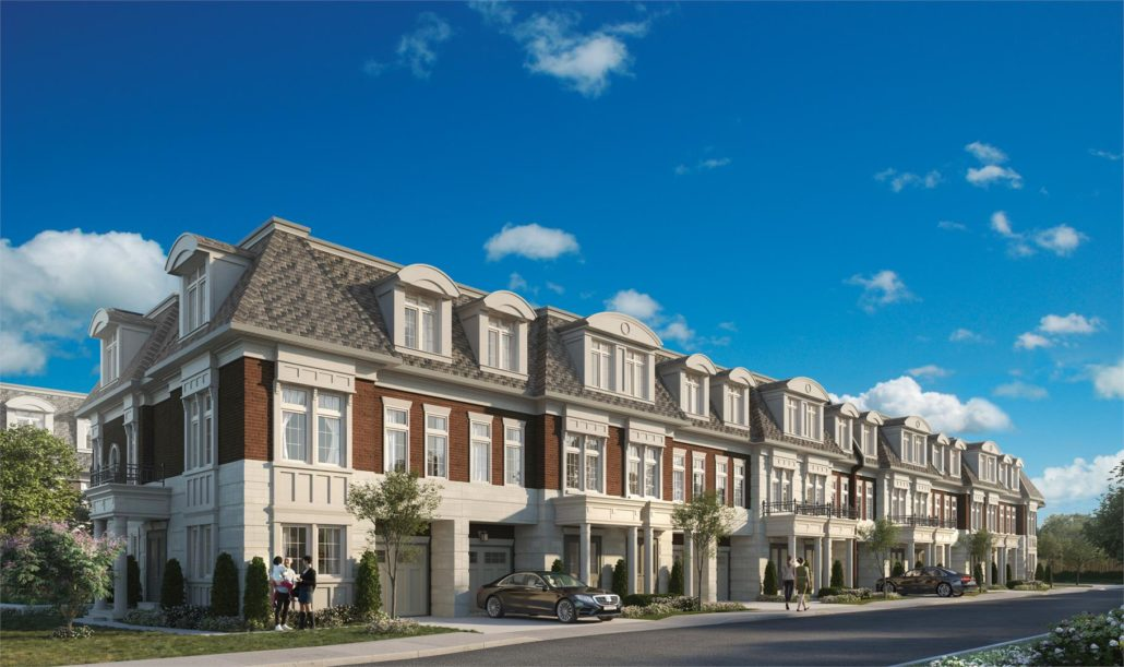 Manors of Mineola Exterior Rendering