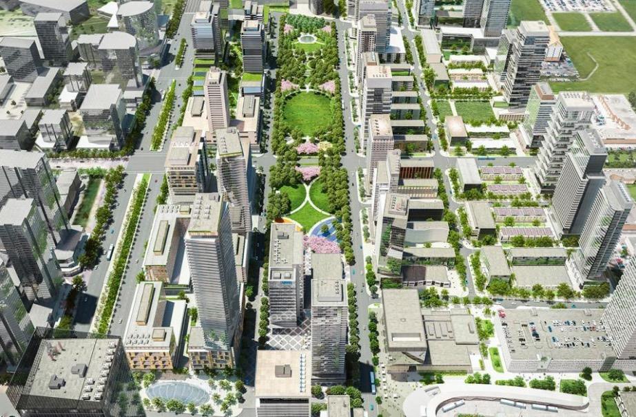 Transit City Condos Master Plan