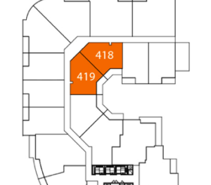 corner suite floor plan condos
