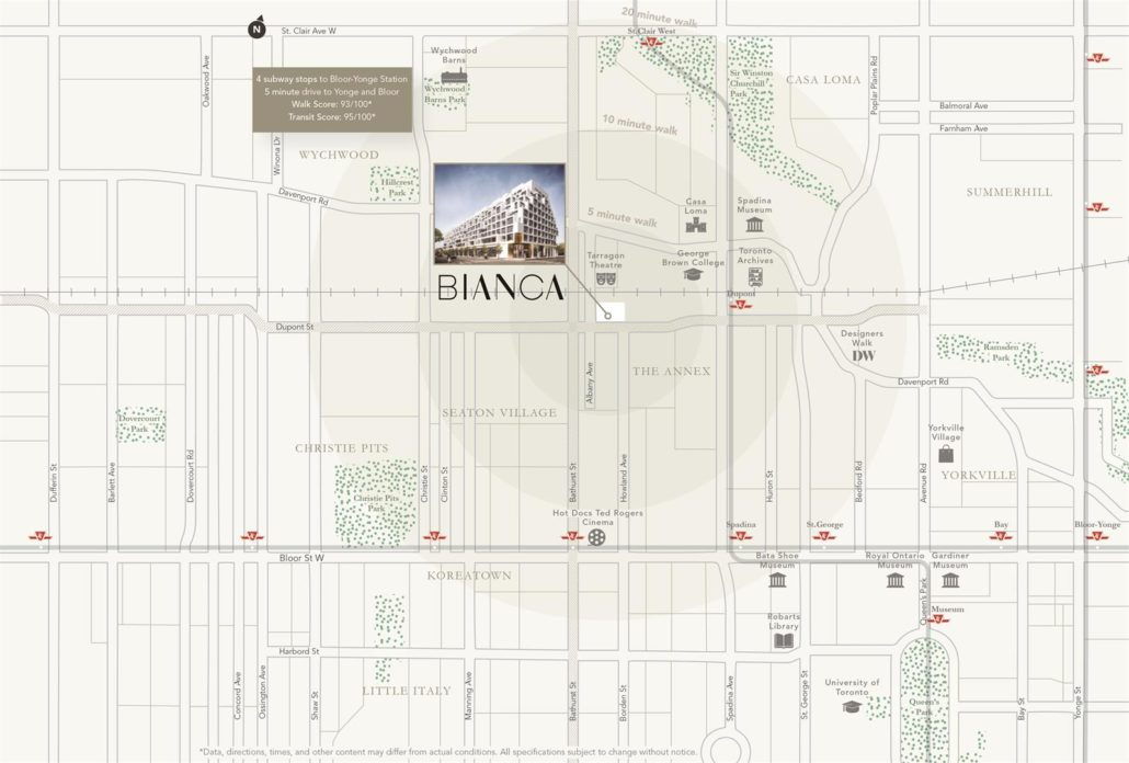 Bianca Condos Neighbourhood