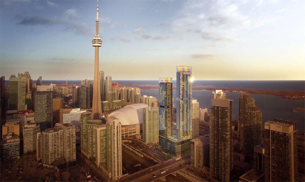Canada House Condos Rendering