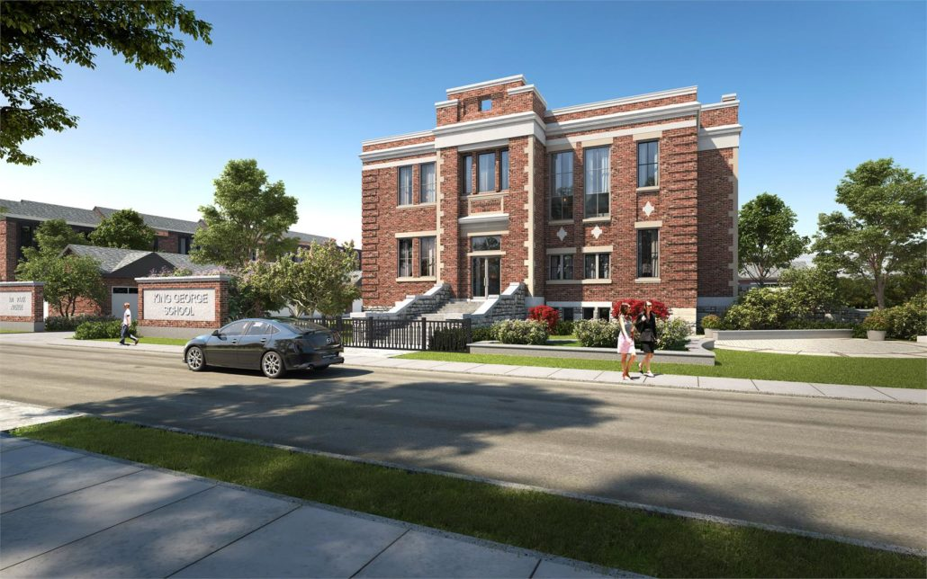 King George School Lofts & Residences Rendering