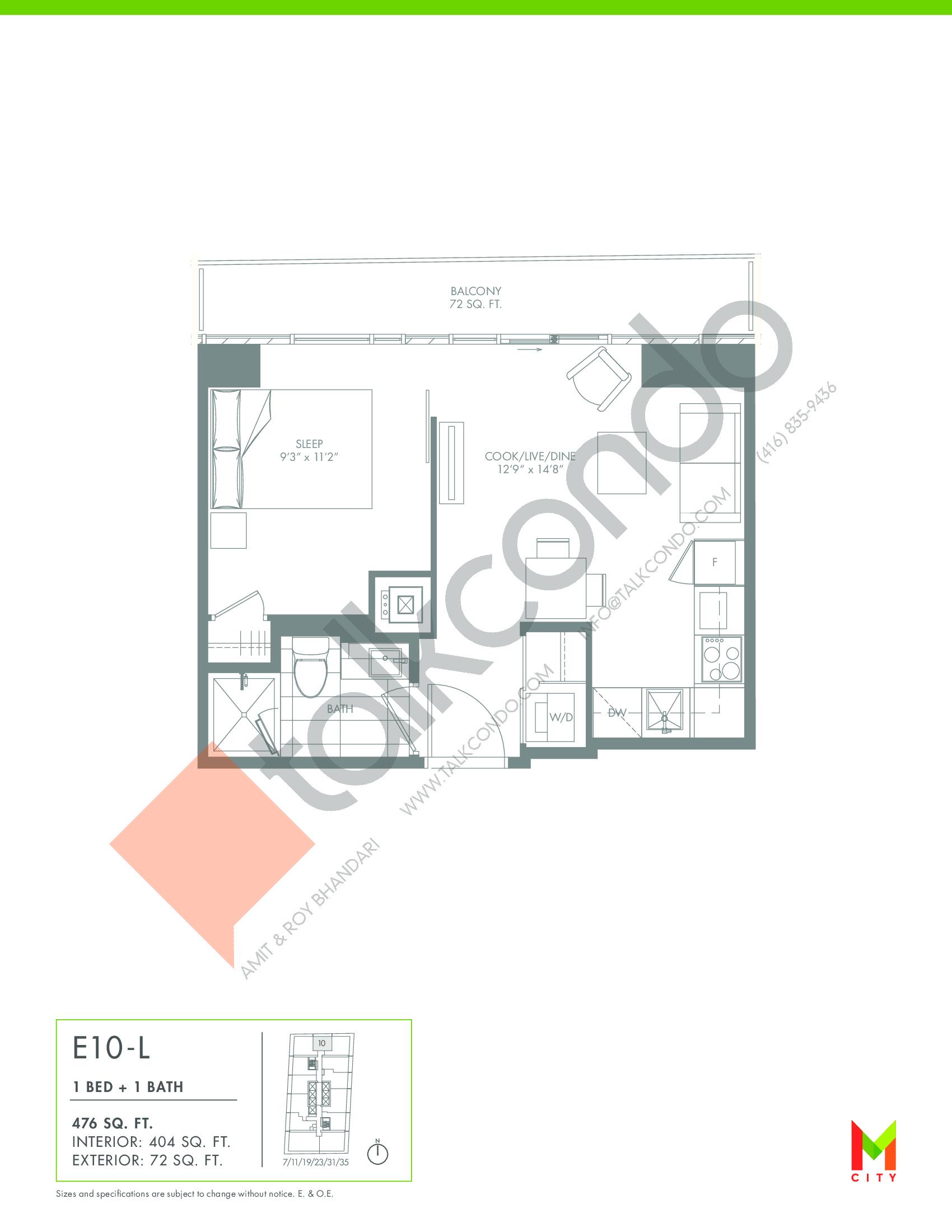 Chicago Condo Mississauga Floor Plans Chicago Condo