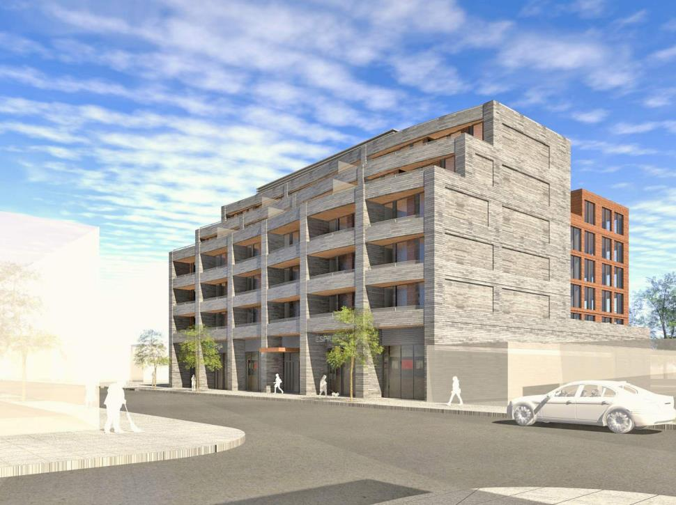 1285 Queen Street East Condos Rendering