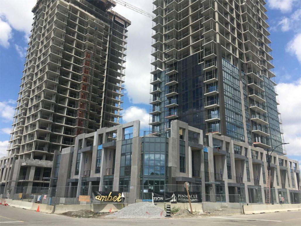 Amber Condos Construction