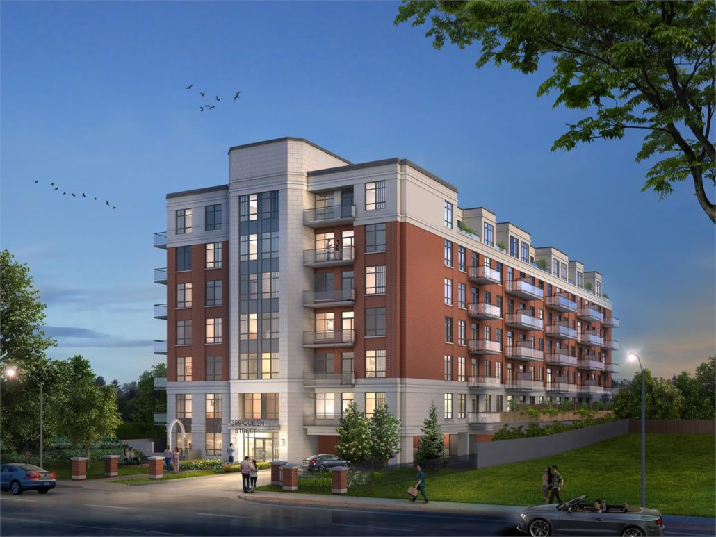 Barra on Queen Exterior Rendering