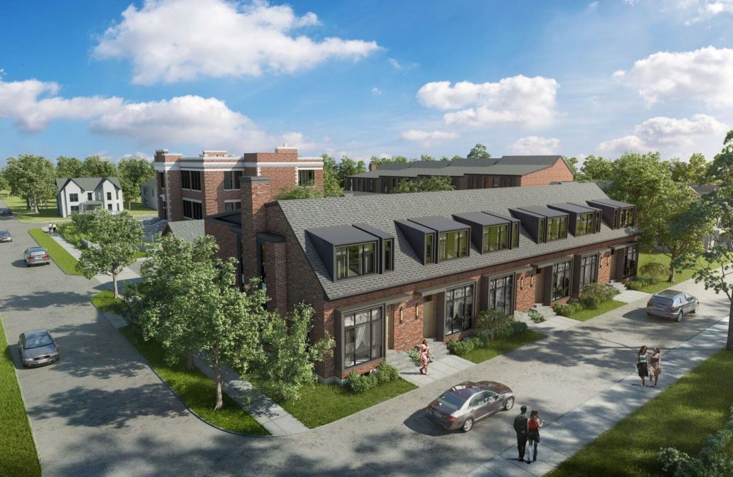 King George School Lofts & Town Homes Rendering