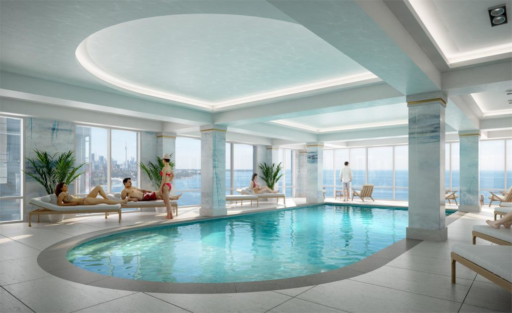 Mirabella Luxury Condos Pool