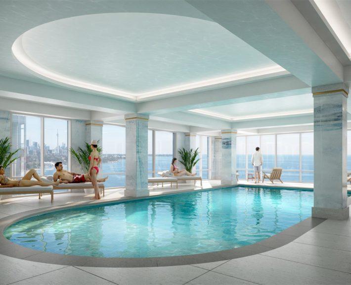 Mirabella Luxury Condos Pool
