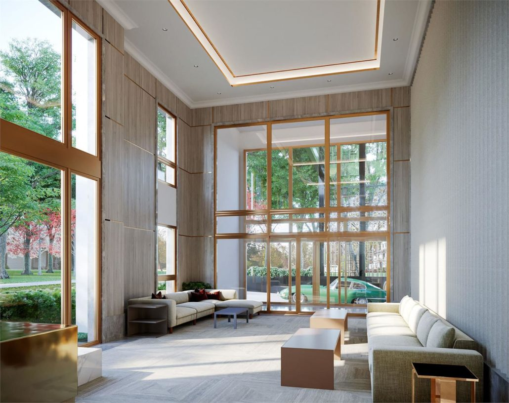 One Forest Hill Lobby