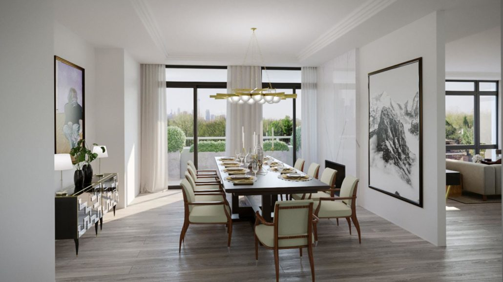 One Forest Hill Suite Interior