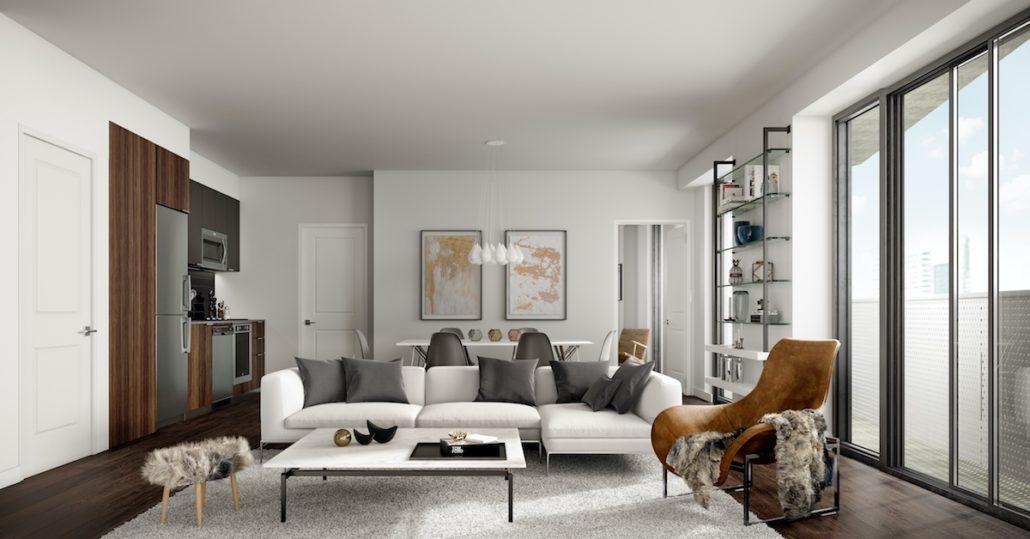 Social Condos Interior Suite
