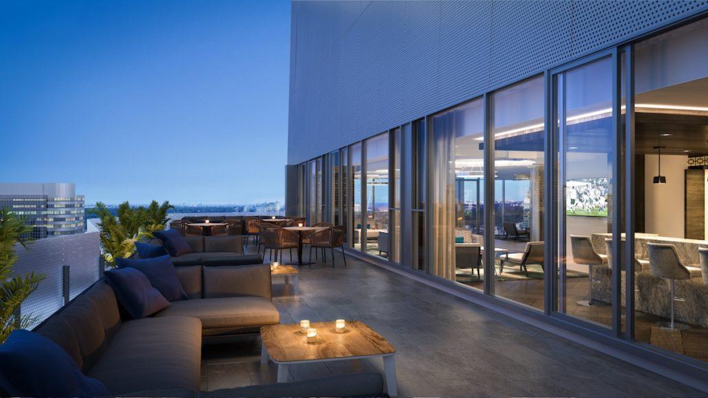 Social Condos Rooftop Terrace