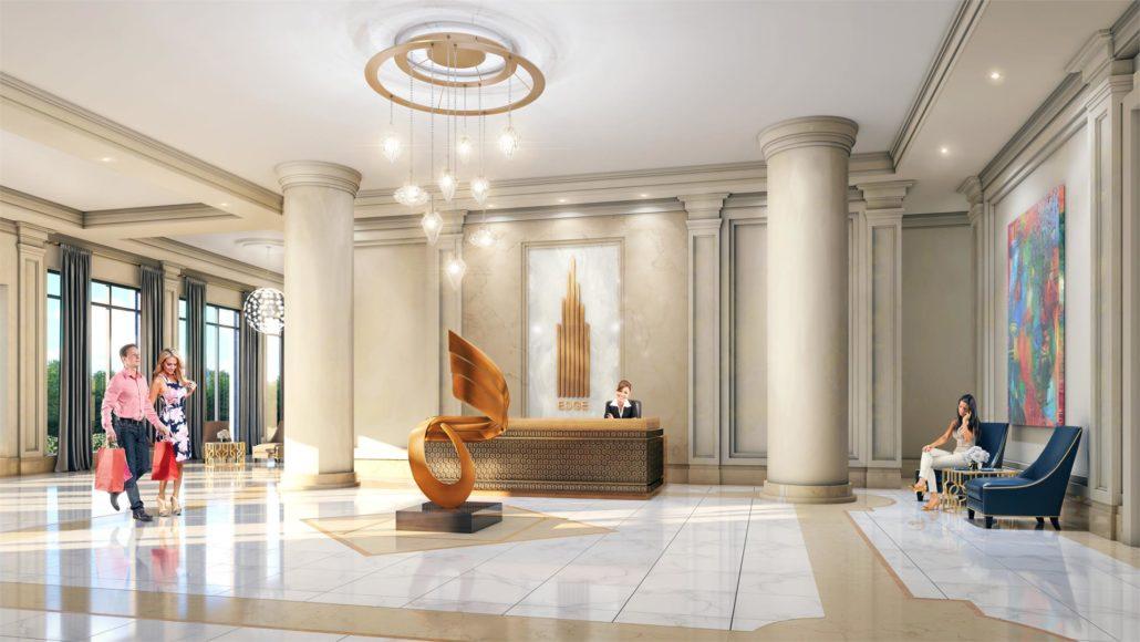 Edge Towers Lobby