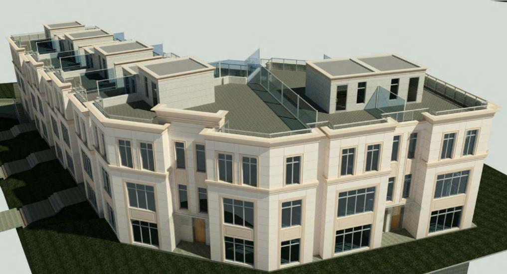 1 Garnier Court Townhomes Rendering