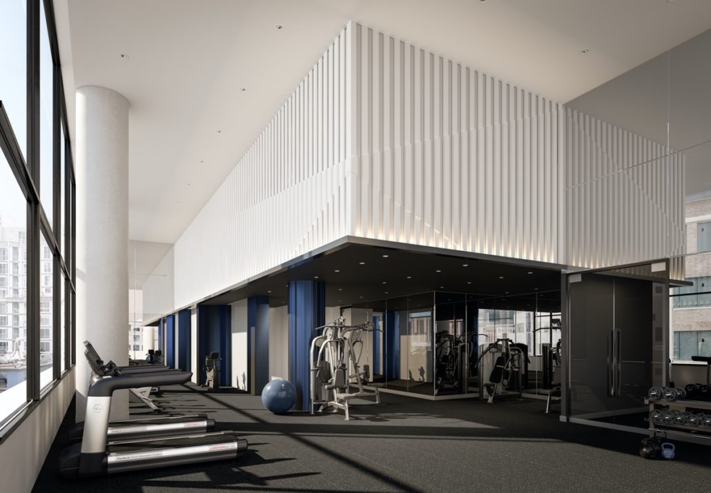 357 King West Condos Gym