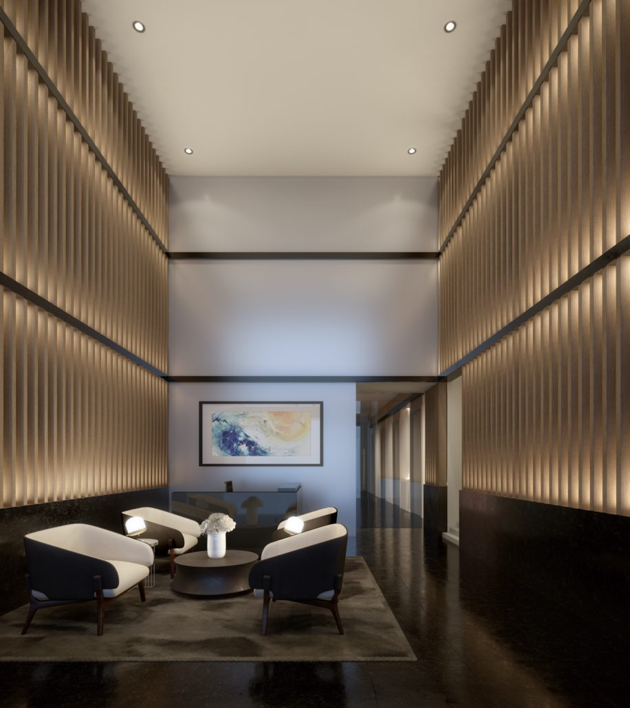 357 King West Condos Lobby