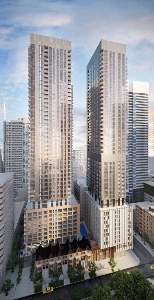 Theatre District Rendering West View