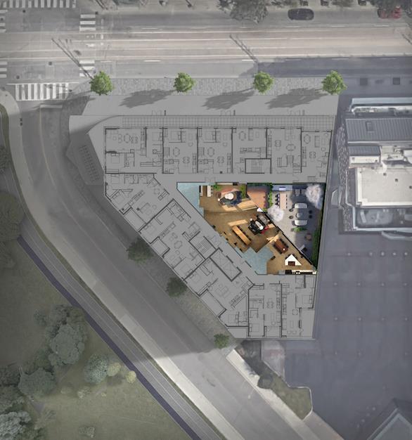 1181 Queen West Condos Amenity Plan
