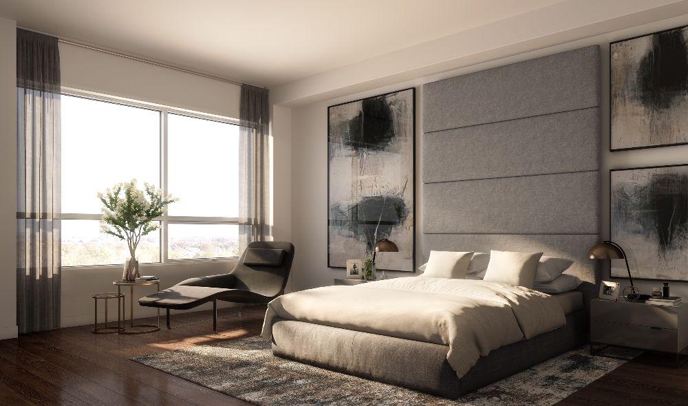 9th & Main Condos + Towns Bedroom