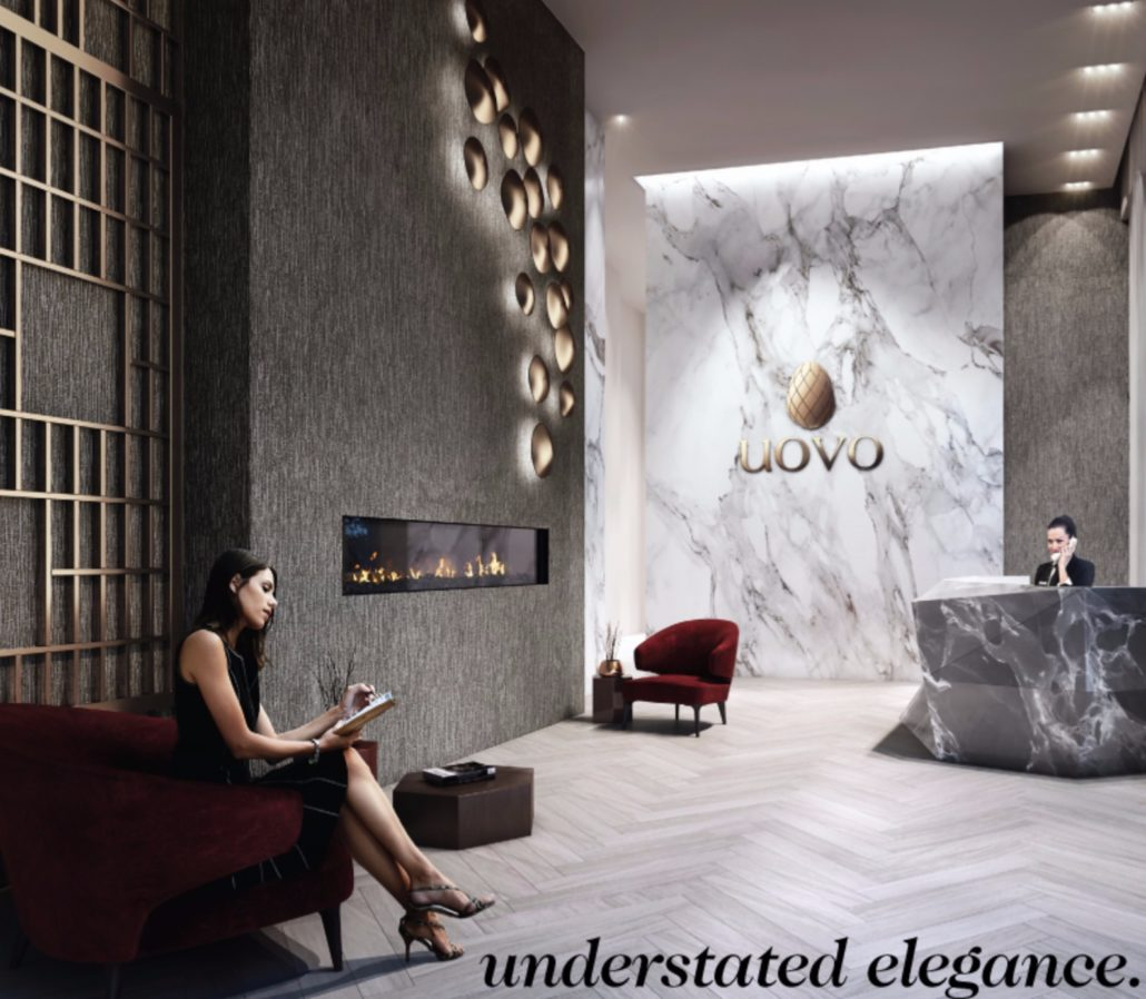 UOVO Boutique Residences Rendering