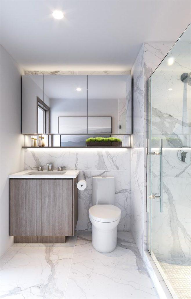 Central Condos Bathroom