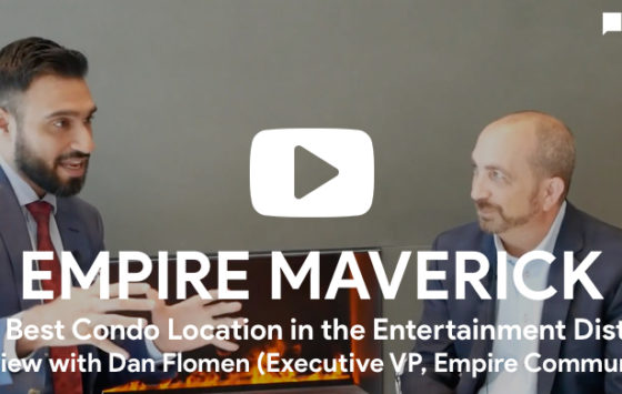 Amit Bhandari interviews Dan Flomen for Empire Maverick Condos