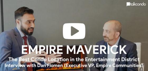 Amit Bhandari interviews Dan Flomen for Empire Maverick Condos