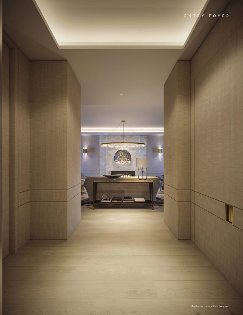 Fifty Scollard Condos Entry Foyer