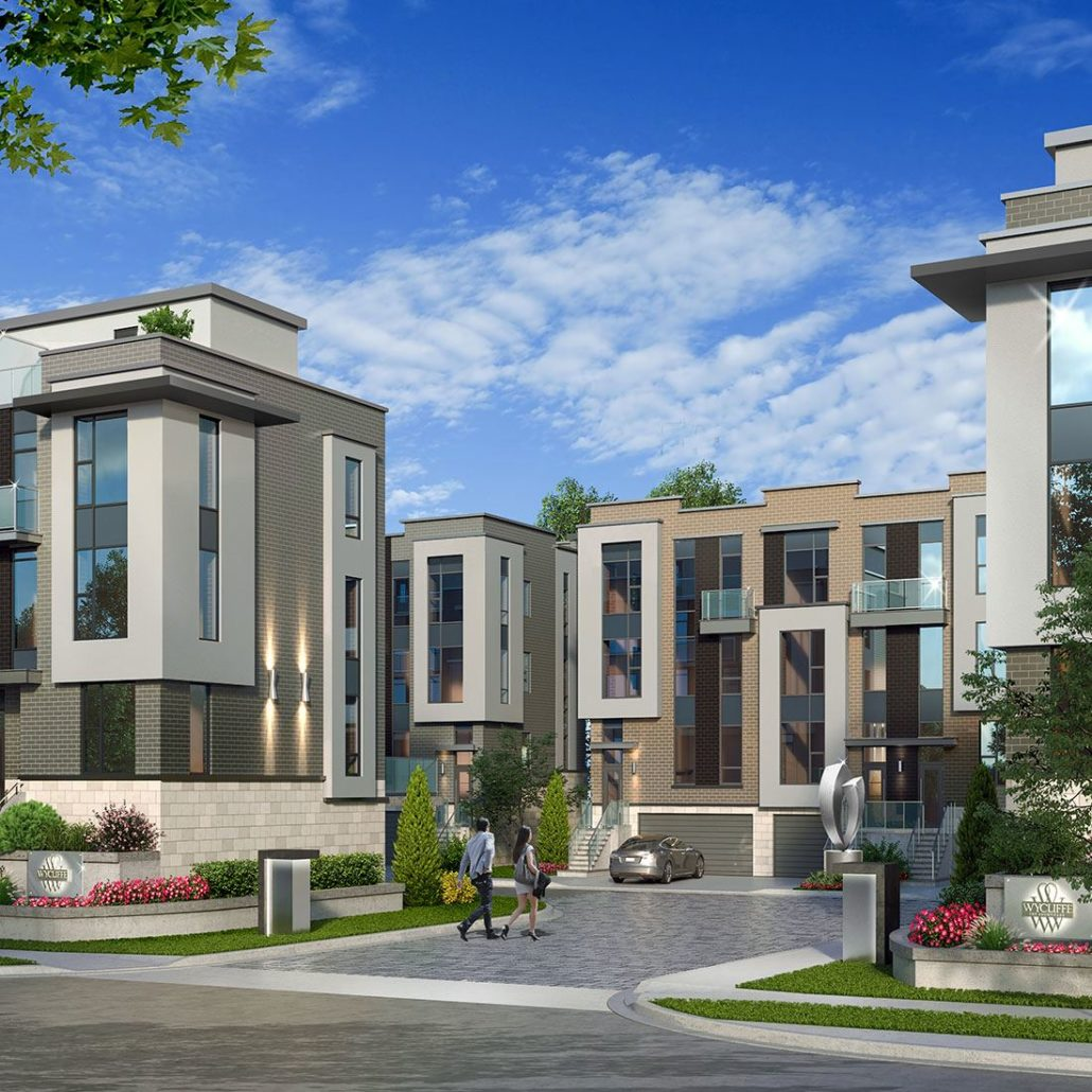 Wycliffe at the Promenade Rendering