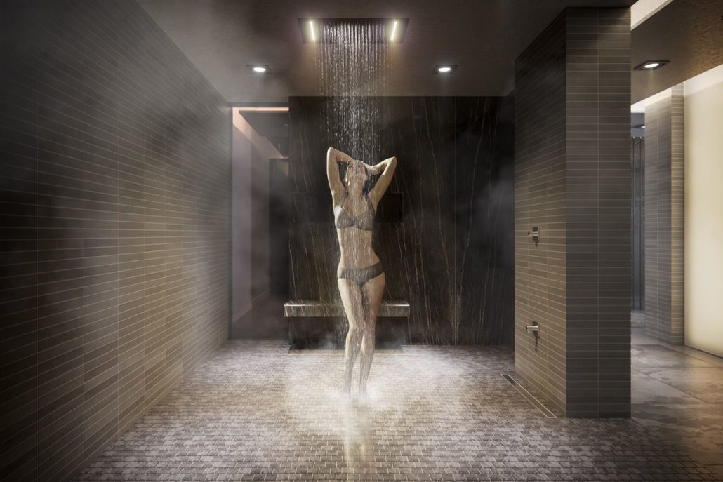 Empire Phoenix Condos Spa Rain Shower