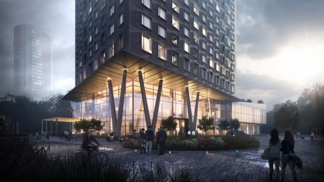 CG Tower Condos Rendering