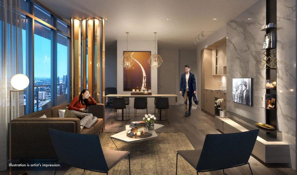 M City Condos Suite Interior