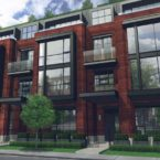 36 Birch Avenue Townhomes Rendering