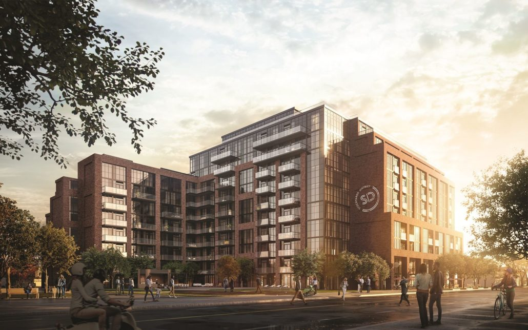Stockyards District Residences Rendering