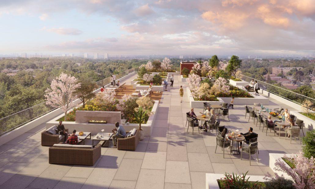 The Keeley Condos Terrace