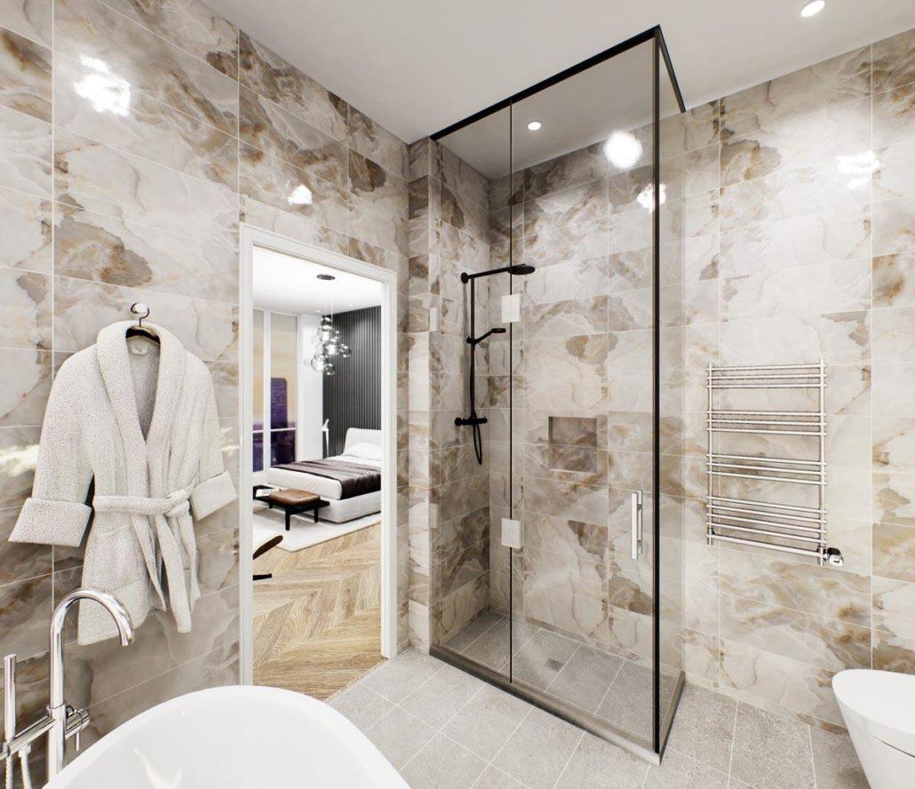 Via Bloor 2 Penthouse Bathroom