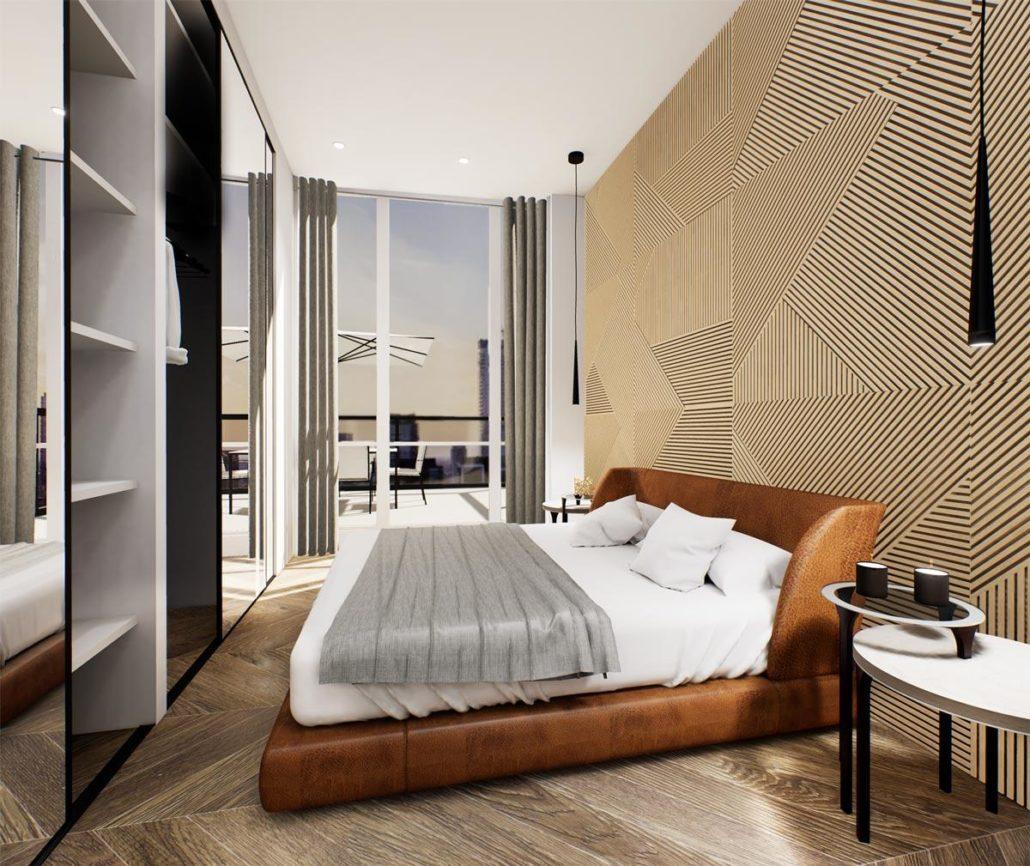 Via Bloor 2 Penthouse Bedroom