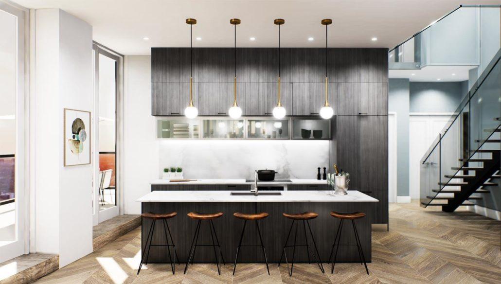 Via Bloor 2 Penthouse Kitchen