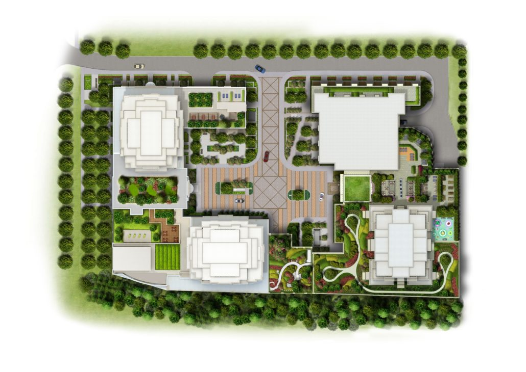 Evermore Condos 2D Site Plan