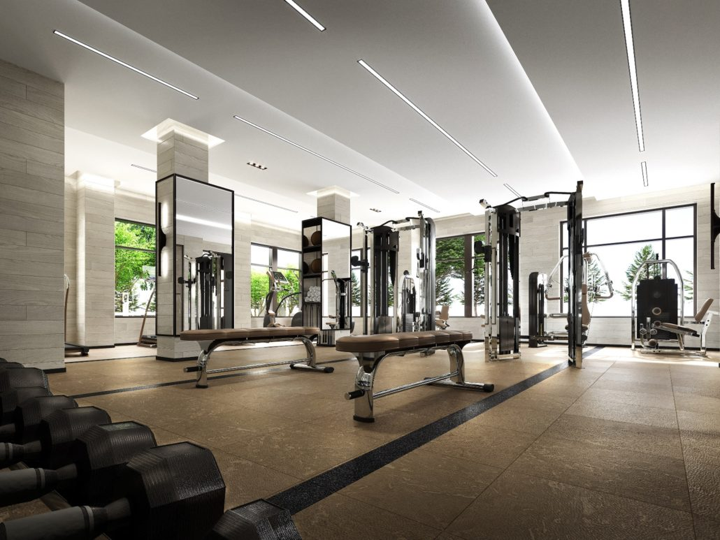 Evermore Condos Fitness Gym