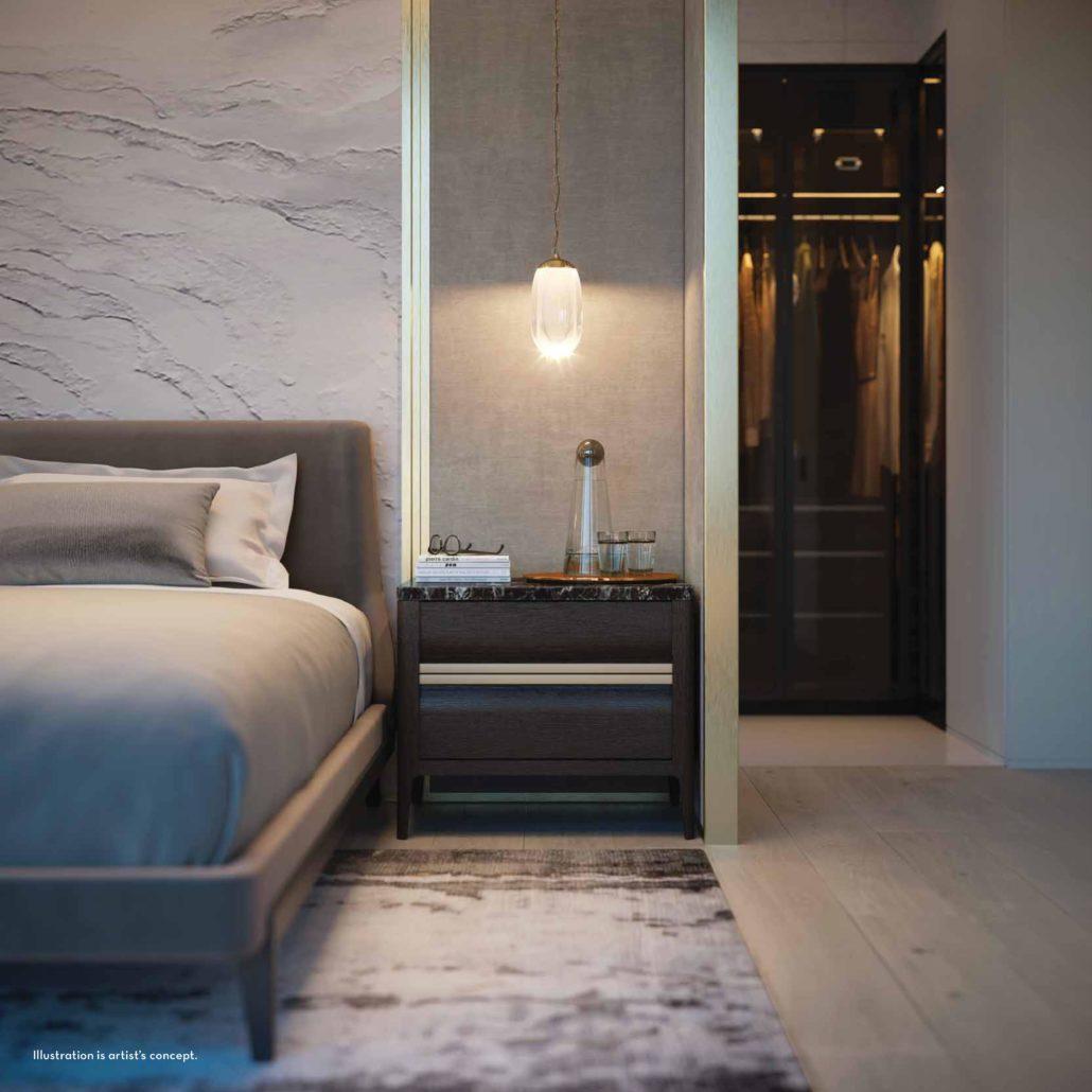 Fifty Scollard Condos Bedroom